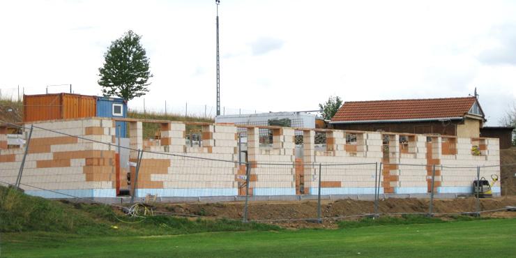 Sportheimbau Bernhardswald