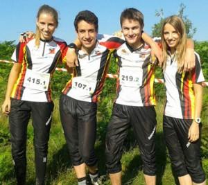 Bayerische Läufer bei denEYOC