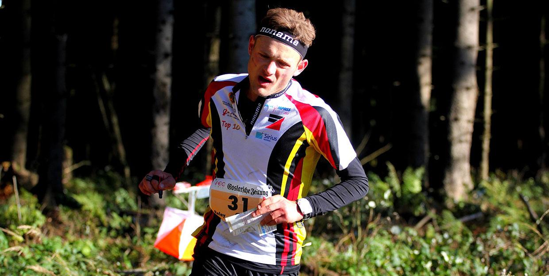 Korbinian Lehner (OLG Regensburg) bei den Junioren-Weltmeisterschaften (JWOC)